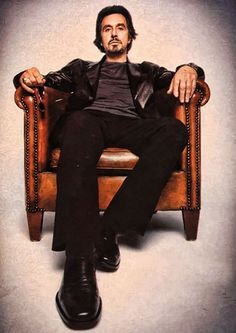 Al Pacino - Love everything about this man.......minus the smoking.