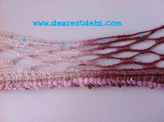 Crocheting with Patons Pirouette Ruffle Yarn, Crochet Ruffle Scarf, Knit Crochet, Sashay Yarn, Handicraft Ideas, Loom Knitting, Crochet Projects, Crocheting, Bobby Pins