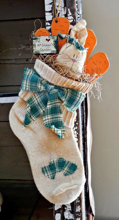 Walnut & Vine - spring bunny