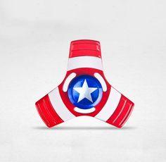 Captain America Tri Fidget Spinner