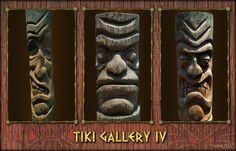 TIKI GALLERY IV - tiki carving collection