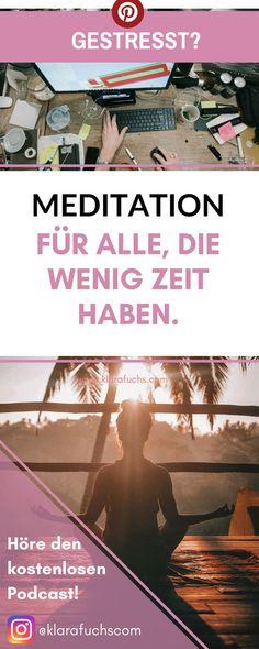 Meditieren lernen \u2013 Die Schritt-für-Schritt-Anleitung Yoga