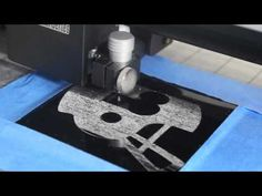 Engraving on Metal Tile with the Silver Bullet Pro - YouTube