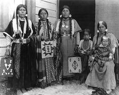 David Williams' family (Nez Perce), Colville Indian Reservation, Washington, ca. 1905.