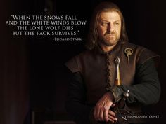 ned stark quotes game of thrones - Google Search