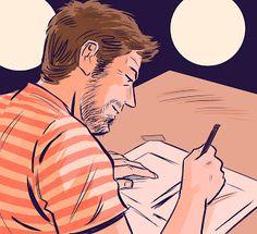 Blog del ilustrador y dibujante de cómics Max Vento: Autoretrato