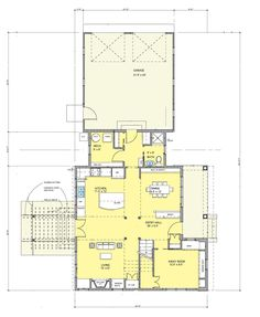 Life Dream House plan by SALA Architects and Sarah Susanka