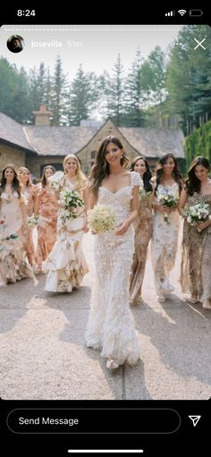 Bridesmaid Dresses, Wedding Dresses, Wedding Attire, Lace Wedding, Weddings, Fashion, Bridesmade Dresses, Bride Dresses, Moda