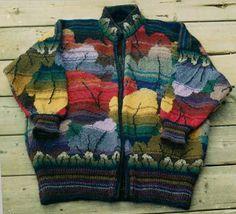 Tapestry Leaf jacket