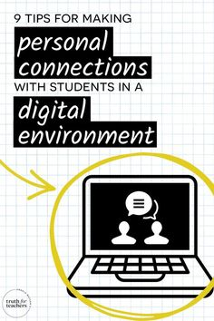 The best advice someone gave during one of these engagements, and that has guided everything I do, was to remember that what is important in-person is still important online. Creating spaces for… More Classroom Management Strategies, Good Advice, Connection, Student, Teaching, Writing, Digital, Tips, Engagements