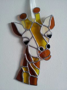 Stained glass giraffe by Glass Gifts Garioch