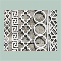Shop Finishing Touches O Verlays Fretwork Panels For Home Decorating Transform Your Ikea Furniture Overlays