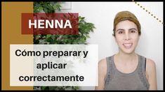 HENNA / Cómo preparar y aplicar correctamente y por qué usarla. - YouTube Henna Pelo, Applique, Ayurveda, Youtube, Hair Cuts, Hair Styles, Health, Tips, Beauty Stuff