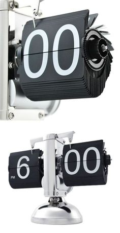 Steampunk flip clock #product_design