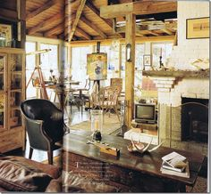 House used in Message in a Bottle movie. Surround of windows, old wooden beams, a floor with a past--not to rough to live here