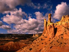 taos new mexico attractions | Chimney Rocks Overlooking the Valley, Ghost Ranch, New Mexico, USA