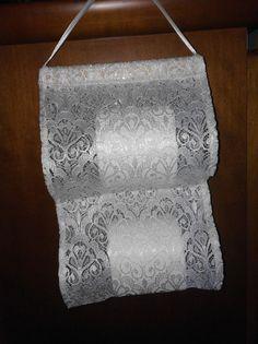 Copri carta igienica - porta rotolo carta pizzo - un prodotto unico di bandullera su DaWanda