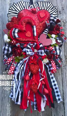 Your place to buy and sell all things handmade : Excited to share this item from my shop: Valentines Wreath, Buffalo Plaid Valentines Wreath, Heart Buffalo Plaid Wreath, Heart Wreath, Valentines Decor Valentine Day Wreaths, Valentine Day Love, Valentines Day Decorations, Valentine Day Crafts, Christmas Wreaths, Valentine Ideas, Spring Decorations, Printable Valentine, Homemade Valentines