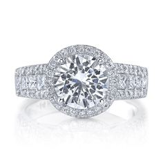 DeScenza Diamonds -  - DIAMOND RING MOUNTING