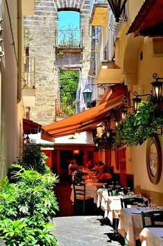 Sorrento - you'll find our surname all over Sorrento!  My husband's family are from this beautiful place!