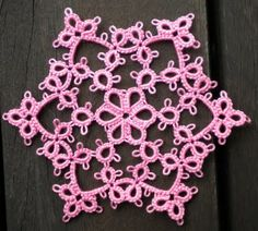 Tat-a-Renda Patterns Featherline Snowflake