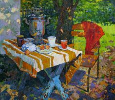 REPINART (home of russian impressionism): Contemporary artist Denis Sarazhin