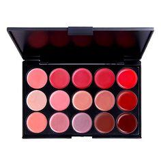 15 colori della palette labbra delicatezza (yy092-1027) – EUR € 12.37