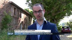 L'Evangile sur Internet : reportage sur Azur TV