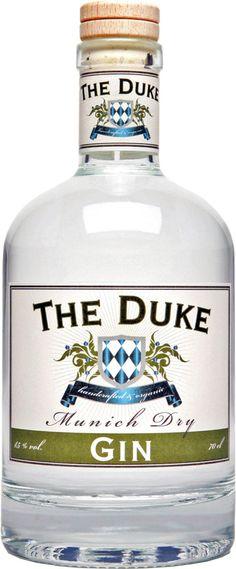 Ginebra The Duke Gin (Ecológica). www.entrecow.com
