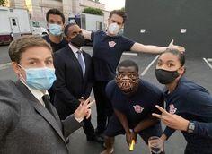 Bts Station, Cast Images, Greys Anatomy Cast, Firefighter, Tv Shows, It Cast, Grey's Anatomy, Chandra Wilson, Greys Anatomy