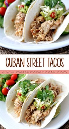These flavorful Cuban Street Tacos are an absolute home run in our house.