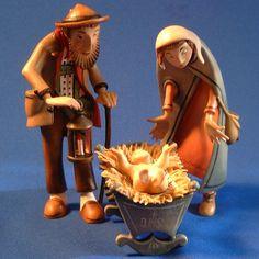 Kastlunger Holy Family for LEPI Kastlunger Wooden Nativity