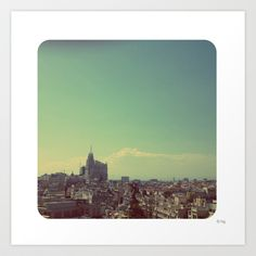 #MADRID Art Print by helenaconh - $19.76