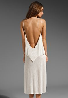 BLUE LIFE Lazy Summer Lovin' Dress in Natural at Revolve Clothing    (I seriously am coveting this right now.)
