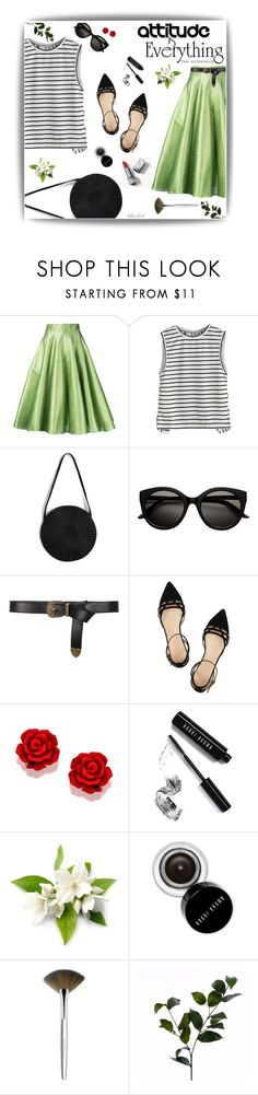 """#210 Attitude Is Everything"" by kelseaclark ❤ liked on Polyvore featuring Bambah, Samuji, Alberta Ferretti, J.Crew, Bobbi Brown Cosmetics, Trish McEvoy, Wyld Home and Burberry"