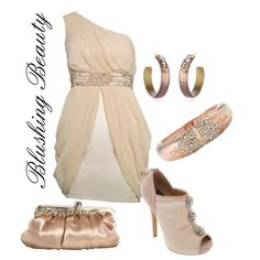 """Blushing Beauty"" by wonderland449 on Polyvore"