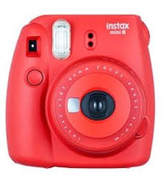 Fujifilm Instax Mini 8 Instant Camera, Raspberry This would be really fun to get as a gift