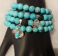 Items similar to Turquoise Bracelet - Bracelet Set - Turquoise Sterling Silver - Lotus Flower - Matte Turquoise Bracelets - Diffuser - Aromatherapy on Etsy Bracelet Set, Lotus, Turquoise Bracelet, Jewellery, Sterling Silver, Trending Outfits, Unique Jewelry, Handmade Gifts, Etsy