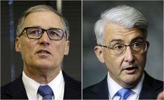 Gubernatorial race framed as referendum on Gov. Inslees first term