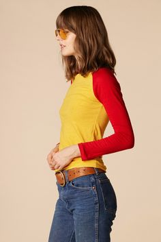 Ketchup & Mustard 70's Baseball Tee – Stoned Immaculate Vintage