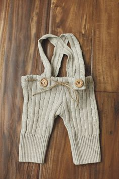 Newborn Button pants suspenders Photo Prop baby girl by CafeYarn, $25.00