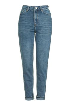 MOTO Sulphur Indigo Mom Jeans - Back to basics - We Love - Topshop Europe