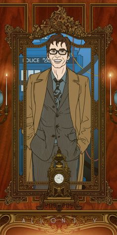 """The Tenth Doctor """"Allons-y"""" by Bill Mudron"""