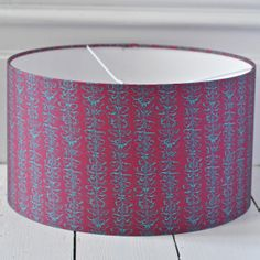 Purple Butterfly Lampshade {Available in six sizes} Hand Printed Fabric, Purple Butterfly, Lampshades, Prints, Design, Home Decor, Lamp Shades, Decoration Home, Room Decor