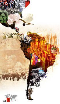 Poder Popular en el mundo -Calendario, cartel-
