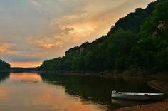 Beautiful Osage River.  Missouri beauty.