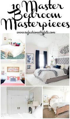 10 Master Bedroom Ma