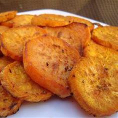 Spicy Sweet Potato Chips - Allrecipes.com