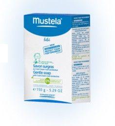 El jabón supergraso al Cold Cream nutriprotector Mustela Bebé, específicamente formulado para su utilización desde el nacimiento, es ideal p...