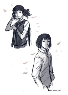 """At the corner of my eye. There he was. Staring right back at me. I hadn't even realised I was walking on the Kohaku bridge when I heard someone call out my name. """"Chihiro. Remember me? Because I never forgot you."""""""